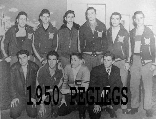 1950 Varsity Peglegs