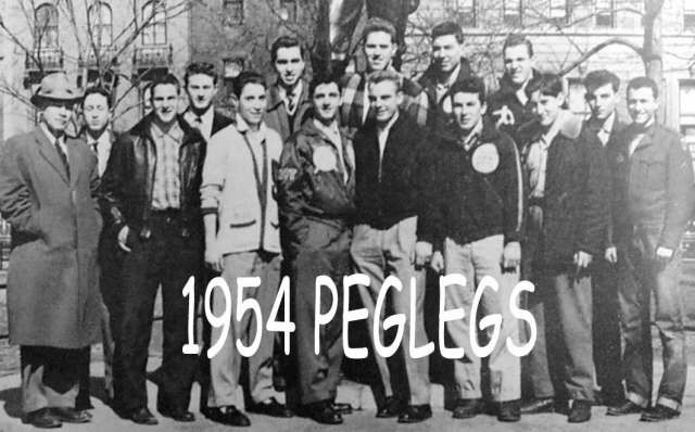 1954 Varsity Peglegs