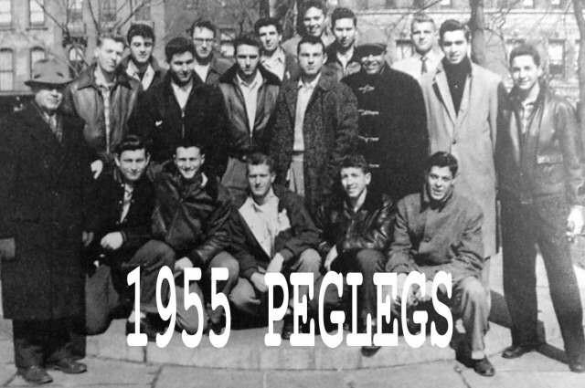 1955 Varsity Peglegs