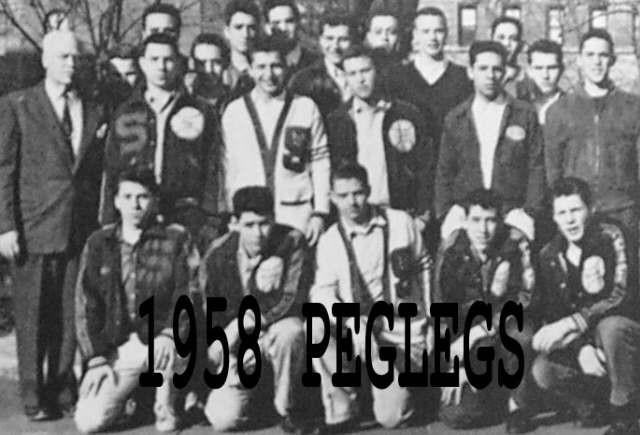 1958 Varsity Peglegs