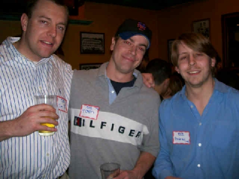 Tim Nikol '99, Tom Fogarty '99, Andrew Newman '99
