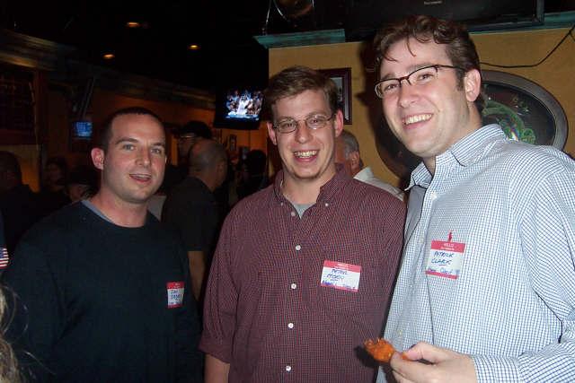Ian Berger ('94), Peter Horn ('97) Patrick Clark ('98)