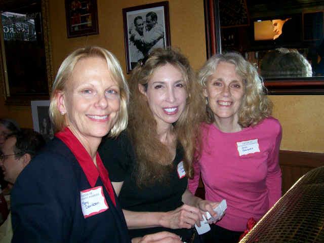 Raffle Organizers Mary Davidson, Jody Greenberg, Joan Giansante
