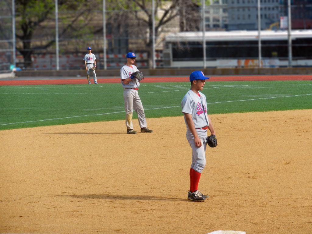 Junpei Taguchi - 3B, Ben Sydel - SS, Tim Diep - CF