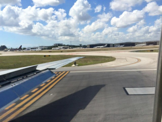 Wheels down in Florida!
