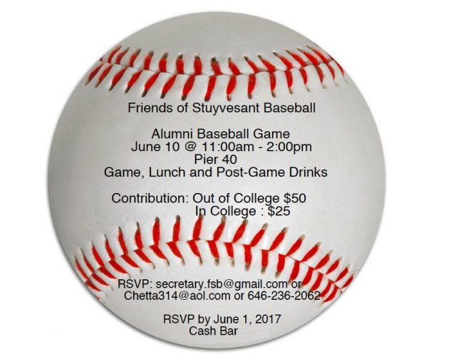 Alumni Game Save the Date - June 10, 2017