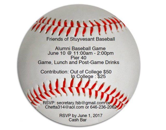 Alumni Game Save the Date - June 10, 2017