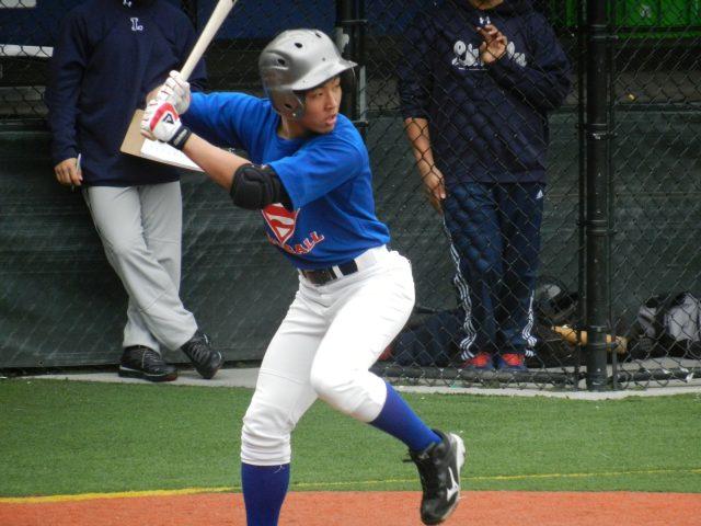 Junpei Taguchi at bat...