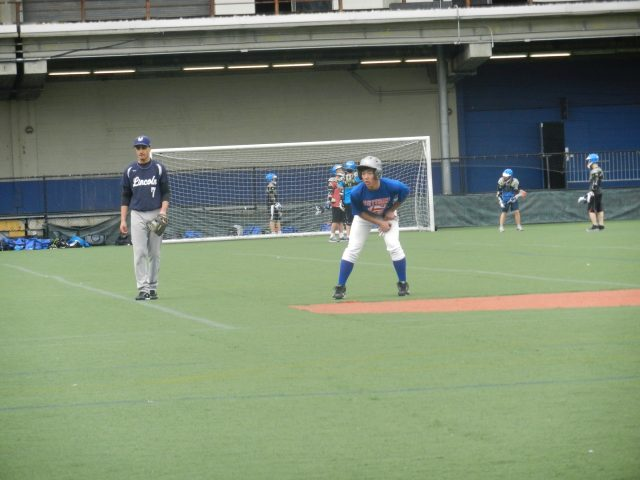 Junpei Taguchi on second base.